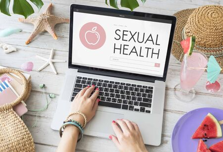 sexual health: Sexual Health Women Awareness Concept