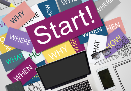 beginning: Start Beginning Startup Launch Forward Motivation Concept