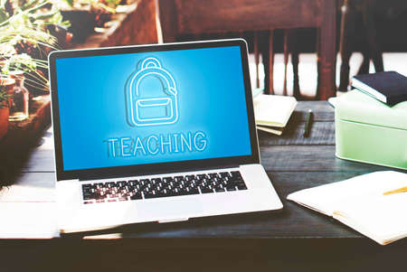 teching: Education School Backpack Tutoring Concept