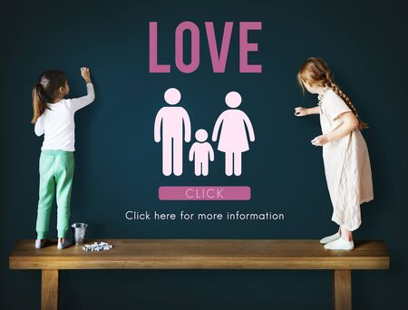 best schools: Family Care Genealogy Love Related Home Concept Stock Photo