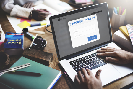 locked in: Secured Access Authorization Accessible Security Concept