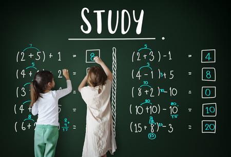 Leren Onderwijs Wiskunde Berekening Onderwijs Concept