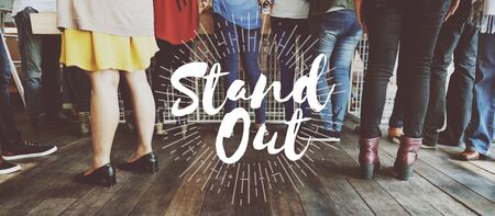 meetup: Stand Out Choice Cool Ideas Inspiration Lifestyle Concept