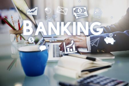 account executive: Banking Financial Economy Money Currency Concept