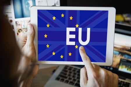 Britain EU Brexit Referendum Concept