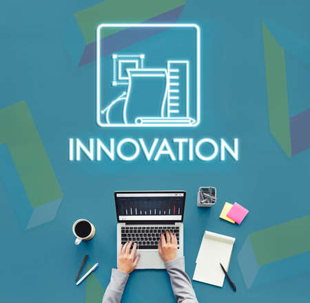 invention: Innovation Invention Technology Creativity Design Concept Stock Photo