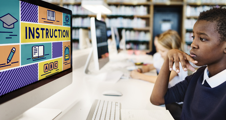 Instruction Knowledge Education Training Coaching Concept Stock Photo