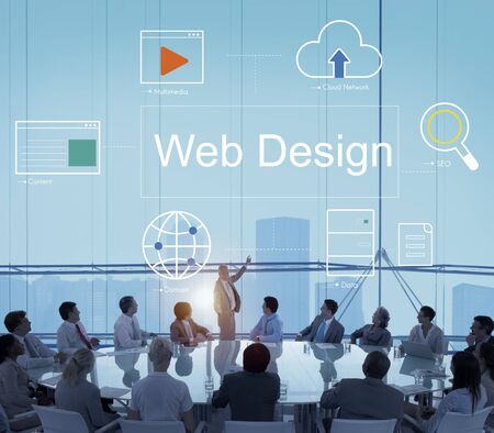 diversity domain: Web Page Webinar HTML Browser Concept