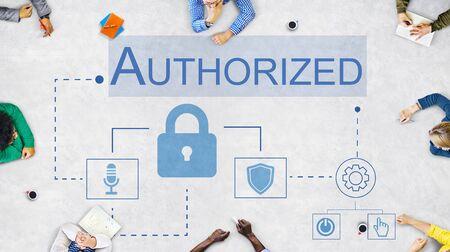 accessible: Login Accessible Password Authorized Permission Concept