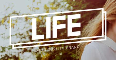 lifecycle: Nacimiento cuerpo vivo la vida del ciclo de vida Concepto de mente