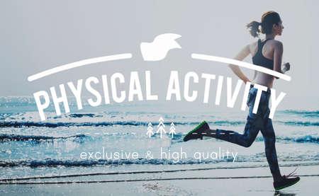 actividad fisica: Actividad F�sica de Acci�n de Energ�a Ejercicio Concepto Aficiones