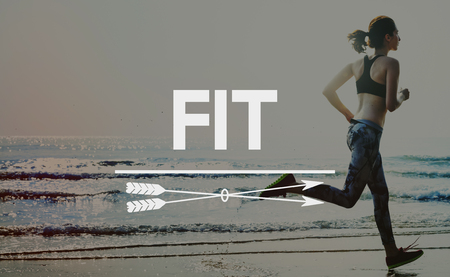 Get Fit Exercise Fitness Physical Training Workout Concept Stock Photo