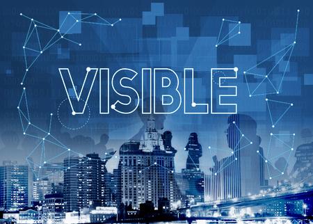 Vision Visibilité Observable Concept Sensiblement Graphic