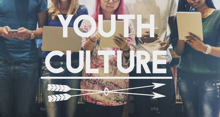 boyhood: Youth Culture Lifestyle Teenager Young Teens Concept