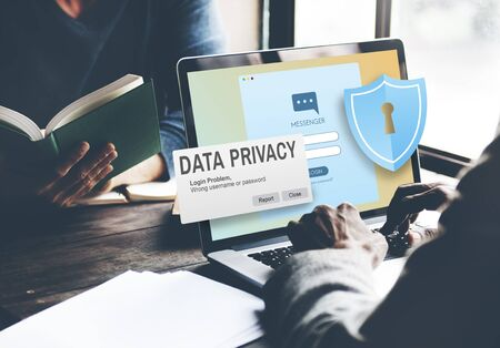 Data Privacy protection Policy Technology Legal Concept Imagens