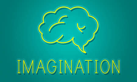 suggestion: Brainstorm Ideas Sharing Solution Graphic Concept Stock Photo