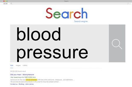 symptom: Blood Pressure Healthcare Heartbeat Symptom Concept