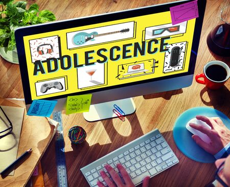 adolescencia: Adolescence Young Adult Youth Culture Lifestyle Concept