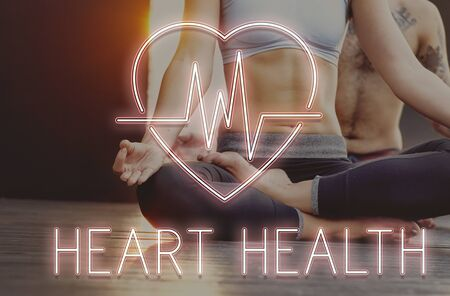 cardiovascular: Cardiac Cardiovascular Disease Heart Graphic Concept