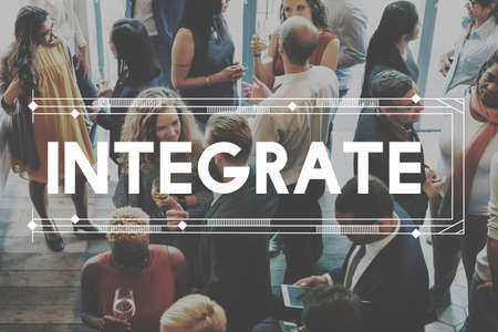 to incorporate: Integrate Unify Togetherness Combine Consolidate Concept