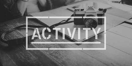 interest: Activity Hobbies Interest Leisure Concept Stock Photo