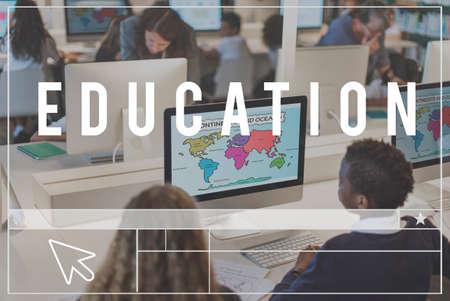scholarship: Education Study Learning Knowledge Scholarship Concept Stock Photo