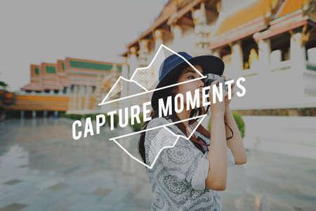 juntar: Capture Moments Collect Enjoyment Explore Concept
