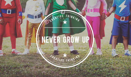 boyhood: Never Grow Old Adolescence Youth Teens Young Concept Stock Photo
