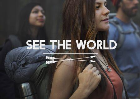 wanderlust: Travel Explore Wanderlust Trip Adventure Concept