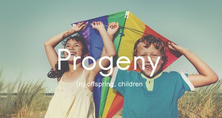 progeny: Progeny Children Generation Juvenile Young Kids Concept