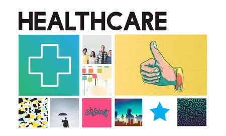 cure: Cross Hospital Treatment Health Cure Concept