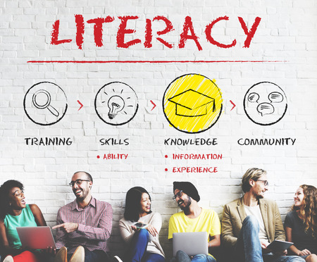 Literacy Educated Knowledge Wisdom Insight Concept Stock Photo