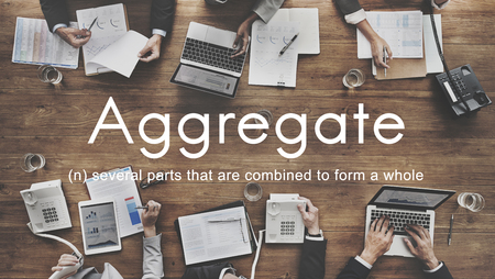 Aggregate Assemble Accumulate Gather Unity Concept