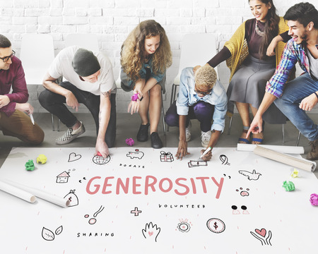 Generosity Donations Charity Foundation Support Concept Stock Photo - 61956461