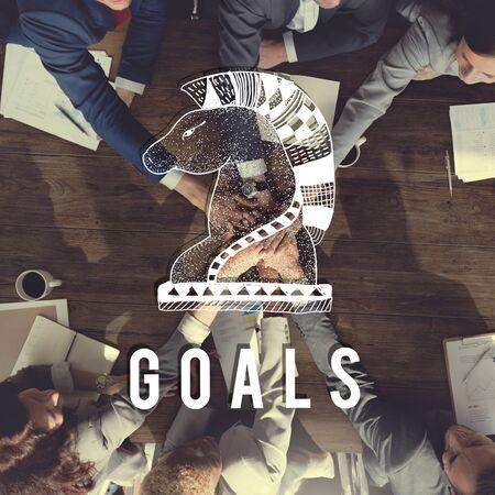 believe: Goals Aim Believe Confidence Inspiration Target Concept Stock Photo