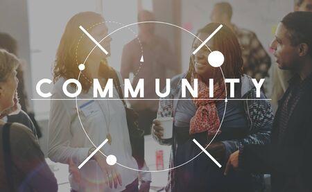 community people: Community People Diversity Connection Concept