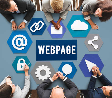 web site: Web Page Design Development Graphic Concept