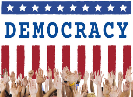 Politics Government Referendum Democracy Vote Concept Reklamní fotografie