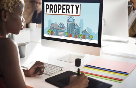 ownership: Property Housing Estate Ownership Concept Stock Photo