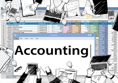 Accounting concept Banque d'images - 110850974