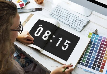 punctual: Time Appointment Schedule Punctual Graphic Concept
