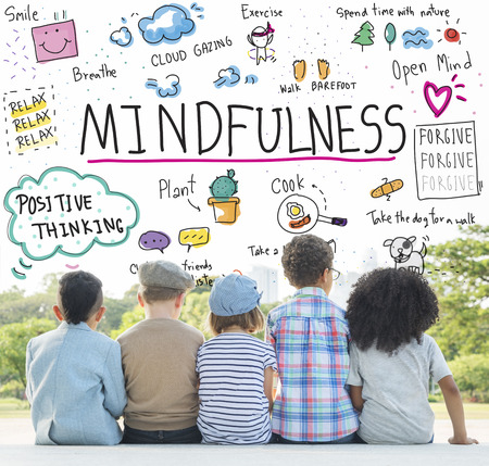 Mindfulness Optimisme Relax Harmony Concept