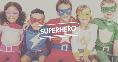 idealized: Superhero Courageous Idol Inspiration Protector Concept