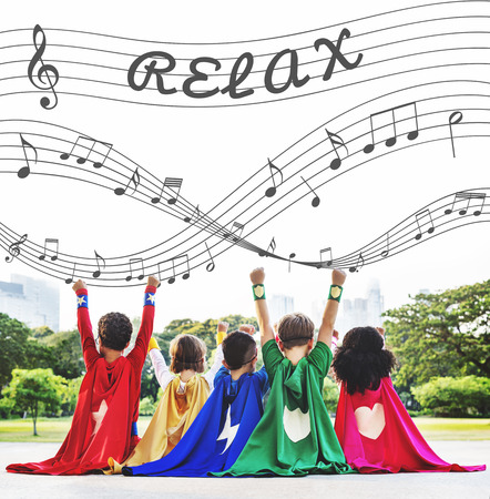 melody: Music Notes Entertainment Melody Listening Concept