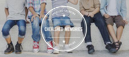 remember: Acariciado Memorias Memoria Mental Recuerde Concept