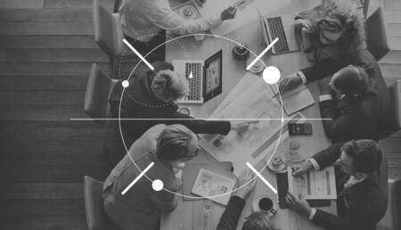 determine: Clarity Concentrate Determine Focus Target Concept