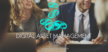 Digital asset management concept