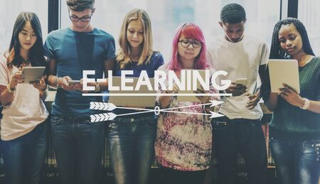E-learning Education Technology Studying Concept