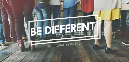 individuality: Different Exclusive Individuality Limited Rare Concept