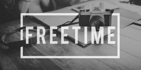 Tempo Libero Libertà rottura Armonia Emancipati Concetto Rilassamento Archivio Fotografico